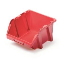 Skrzynka narzędziowa, kuweta warsztatowa - Bineer Short - 9,8 x 11,8 cm - czerwony