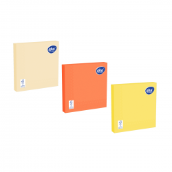 Serwetki papierowe - 33 x 33 cm - AHA - 100 szt. + 20 szt. GRATIS - ciepłe kolory