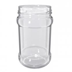 Słoje zakręcane szklane, słoiki - fi 66 - 315 ml  - 12 szt.