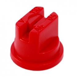 Dysza do opryskiwacza, rozpylacz szczelinowy SF-04 - czerwony - Kwazar