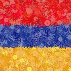 Armeńska flaga - zestaw 3 odmian nasion kwiatów