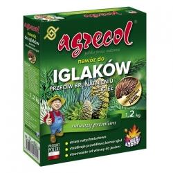 Nawóz do iglaków - przeciwdziała chlorozie i brunatnieniu igieł - Agrecol - 1,2 kg