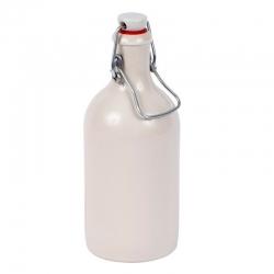 Butelka z kamionki z zamknięciem hermetycznym - 0,5 l - idealna do domowych alkoholi