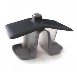 Karmnik dla ptaków z możliwością powieszenia na sznurku lub gałęzi - Birdyfeed Double - kamienny szary