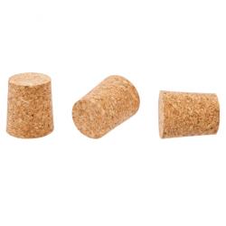 Korek naturalny stożkowy - aglomerowany - 33/30 mm