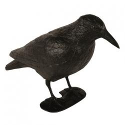 Duży kruk - figurka odstraszająca gołębie i inne ptaki - 40 cm