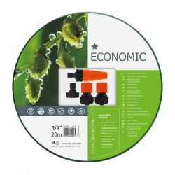 ECONOMIC Wąż ogrodowy - 3/4'' 20m - z kompletem przyłączy CELLFAST