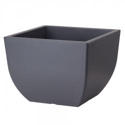 Doniczka kwadratowa Muna - 30 cm - antracyt