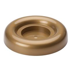 Ikebana okrągła do kompozycji - 18 cm - złota