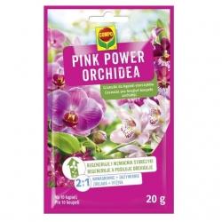 Pink power orchidea - granulki do kąpieli nawadniającej i odżywiającej storczyki - Compo - 20 g