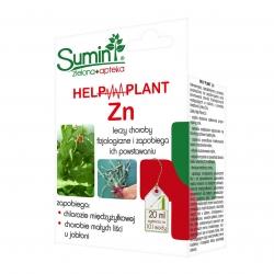 Help Plant Zn - na chlorozę międzyżyłkową i chorobę małych liści jabłoni - Sumin - 20 ml