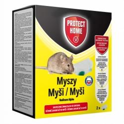 Rodicum Alpha - gotowy do użycia pojemnik z trutką na myszy - Protect Home - 2 szt.