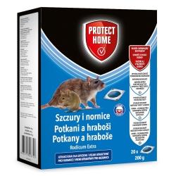 Rodicum Extra - środek w saszetkach do zwalczania nornic i szczurów - Protect Home - 20 szt.