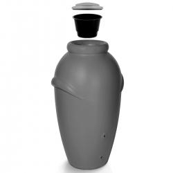 Pojemnik na deszczówkę - Aqua Can 210 l - szary