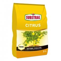 Podłoże do cytrusów - smaczne cytryny, mandarynki i pomarańcze - Substral - 3 l