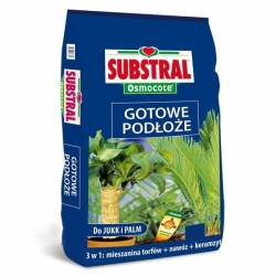 Gotowe podłoże do jukk i palm - komplet potrzebnych składników - Substral - 20 litrów