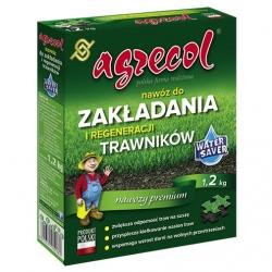 Nawóz do zakładania i regeneracji trawników - gęsta zielona darń - Agrecol - 1,2 kg