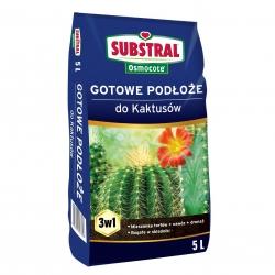 Podłoże do kaktusów i storczyków - Substral - 5 litrów