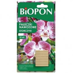 Pałeczki nawozowe do storczyków - ponad 3 miesiące działania - Biopon - 12 szt.