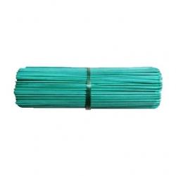 Patyczki z bambusa obrabianego - zielone - 40 cm - 10 szt.