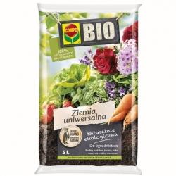 BIO Podłoże uniwersalne do wszelkich roślin w domu i ogrodzie - Compo - 5 litrów
