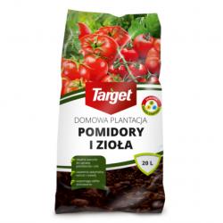 Podłoże do uprawy pomidorów i ziół - w domu i ogrodzie - Target - 20 l