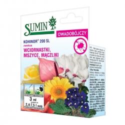 Kohinor 200 SL - środek owadobójczy, na szkodniki roślin ozdobnych i warzyw - Sumin - 3 ml