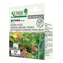 Mythos 300 SC - na choroby grzybowe - parch, szara pleśń, przypąkowe zamieranie - Sumin - 10 ml