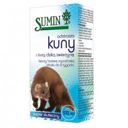 Płyn odstraszający kuny i inne dzikie zwierzęta - super skuteczny - Sumin - 100 ml