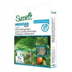 Miedzian 50 WP - na choroby bakteryjne i grzybowe - Sumin - 50 g