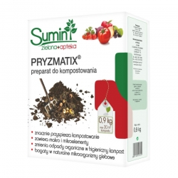 Pryzmatix BIO - preparat z żywymi mikroorganizmami do kompostowania - Sumin - 900 g
