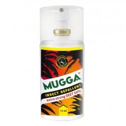 Mugga - najmocniejszy środek na komary - działa nawet w tropikach - spray 75 ml