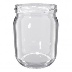 Słoje zakręcane szklane, słoiki - fi 82 - 540 ml - 40 szt.