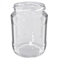 """Słoiki zakręcane szklane na miód - fi 82 - 720 ml z zakrętkami """"Słoiki miodu"""" - 8 szt."""