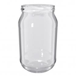 Słoiki zakręcane szklane na przetwory z warzyw - fi 82 - 900 ml z zakrętkami - 120 szt.