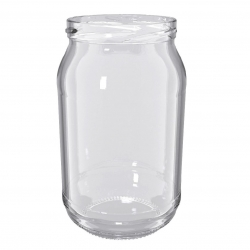 Słoje zakręcane szklane, słoiki - fi 82 - 900 ml - 160 szt.