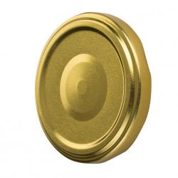 Zakrętka do słoików - złota - śr. 82 mm - 20 szt.