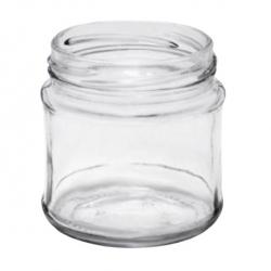 Słoiki zakręcane szklane, słoje - fi 66 - 200 ml - 12 szt.