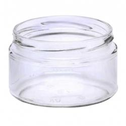 Słoiki zakręcane szklane, słoje - fi 82 - 250 ml - 40 szt.
