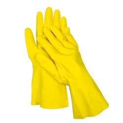 Rękawice gumowe flokowane - rozmiar 7