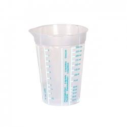 Kubek z miarką - Mario - 0,25 litra - seledynowy