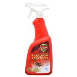 Arox - skuteczny płyn na roztocza, karaluchy i inne owady - 500 ml
