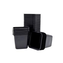 Kwadratowe doniczki produkcyjne - 6 x 6 x 5,5 cm - 20 sztuk