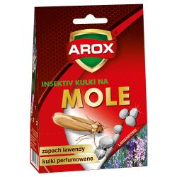 Kulki na mole w praktycznym pudełku - lawendowe - 100 g