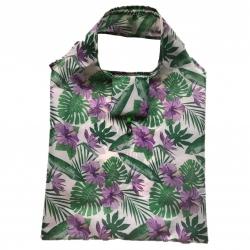 Składana torba na zakupy - 38 x 38 cm - liście