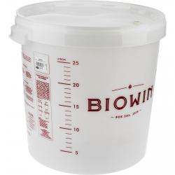 Pojemnik fermentacyjny z pokrywą i miarką - 30 litrów