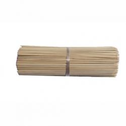Patyczki z bambusa obrabianego - brązowe - 40 cm - 10 szt.