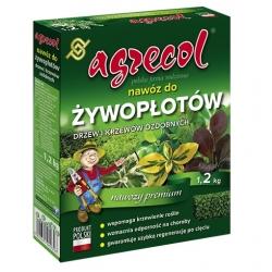 Nawóz do żywopłotów, krzewów i drzewek ozdobnych - gwarantuje wigor i piękną zieleń liści - Agrecol - 1,2 kg