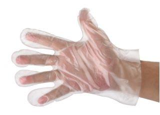 Jednorazowe rękawice foliowe - 100 sztuk