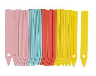 Kolorowe etykiety do oznaczania sadzonek i siewek 10 cm - 40 sztuk